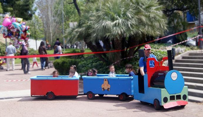 tren infantil tripulat