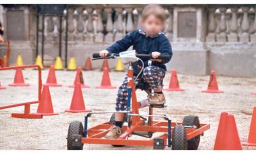 circuit de karts ecològics per nens