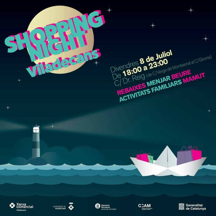 activitats familiars per al shopping night Barcelona